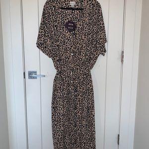 Cheetah Print dress from Target
